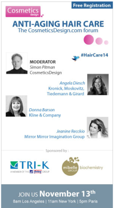 Anti-Aging Hair Care Webinar